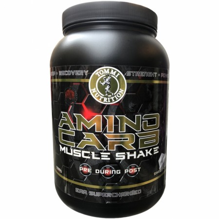 Aminocarb Muscle Shake Ny Formel, Sweet Flavor 1200g